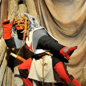 Création de masques théâtre