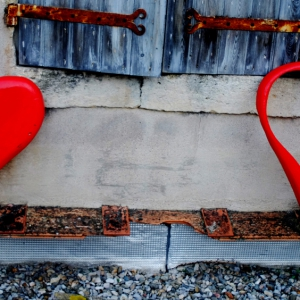 Création Coeurs en Carton Fallas